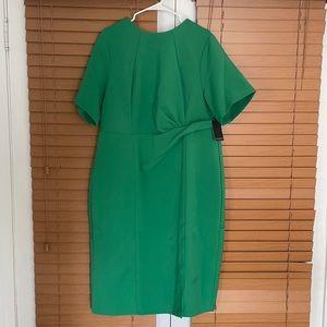 Eloquii NWT Green Holiday Twist Dress Size 18